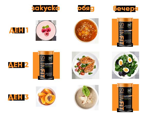 Приемане-food